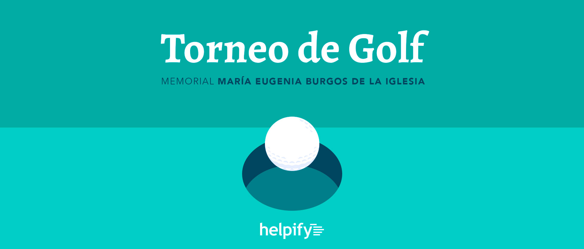"""Torneo de Golf """"Memorial María Eugenia Burgos de la Iglesia"""""""