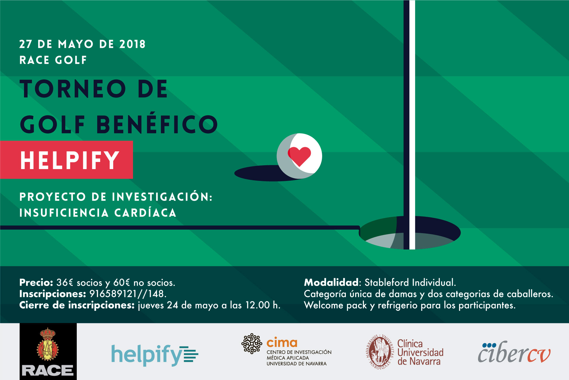 I Torneo de Golf Helpify en el Club Race