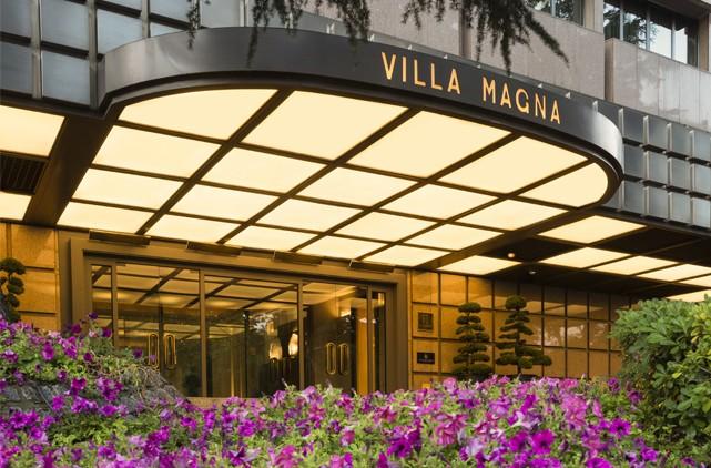 Almuerzo solidario el día de la Madre 2018, Hotel Villa Magna