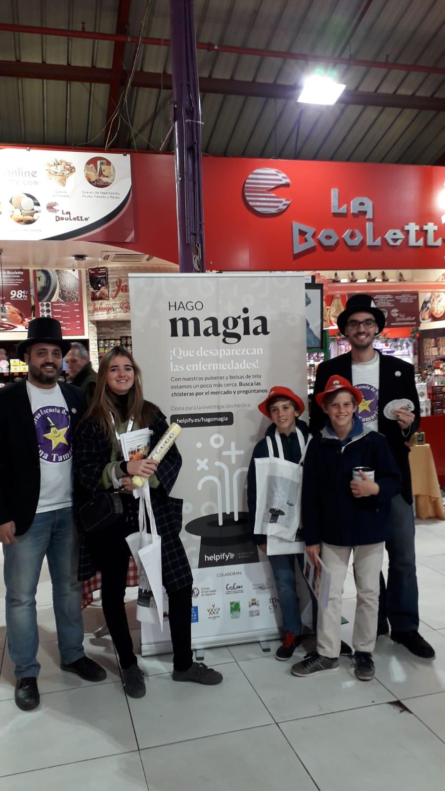 Hago Magia en Madrid con la Gran Escuela de Magos Ana Tamariz. Helpify