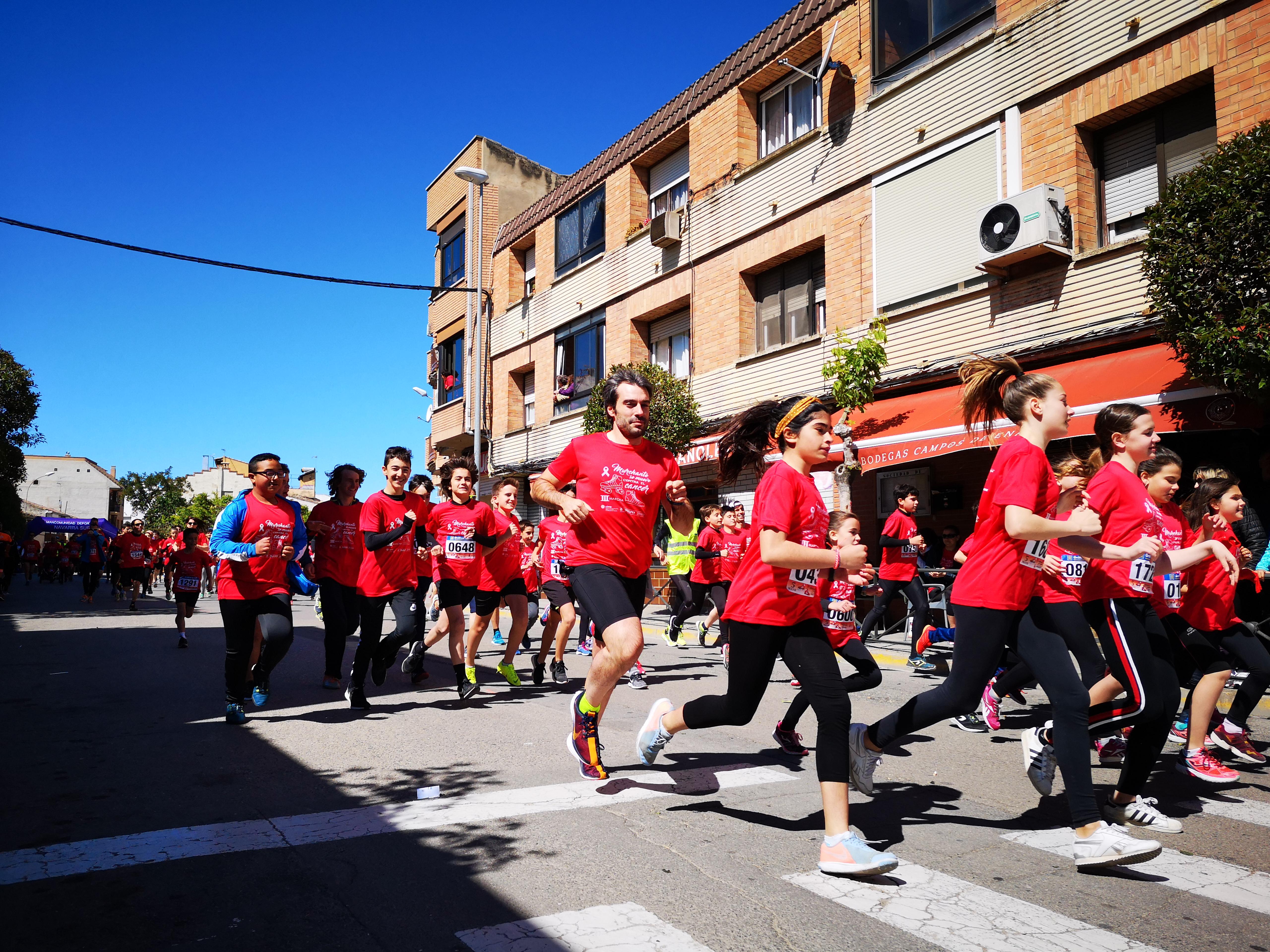 """Entrega de la recaudación de la III Marcha Solidaria """"Murchante se mueve contra el cáncer"""""""